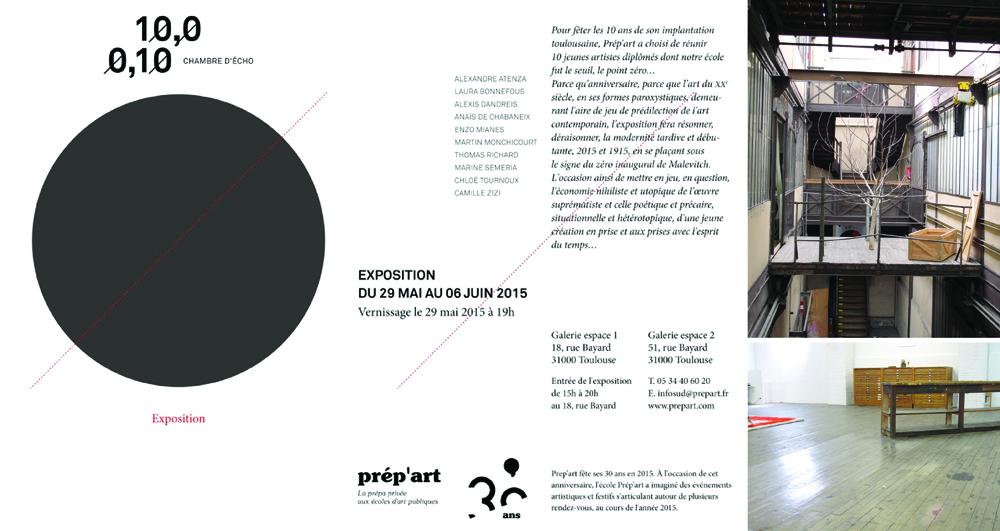10.0/0.10, Académie de dessin, Toulouse
