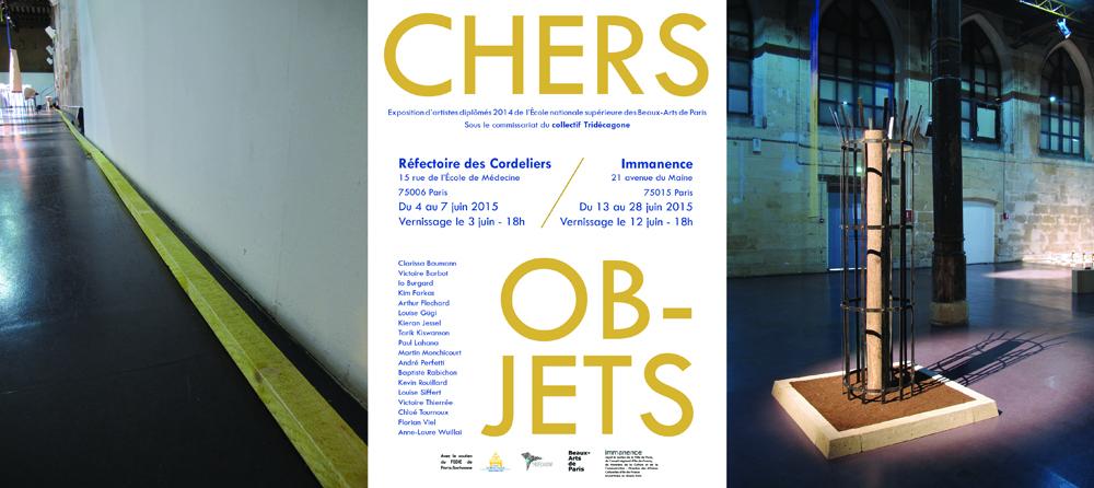 Chers Objets, Réfectoire des Cordeliers, Paris