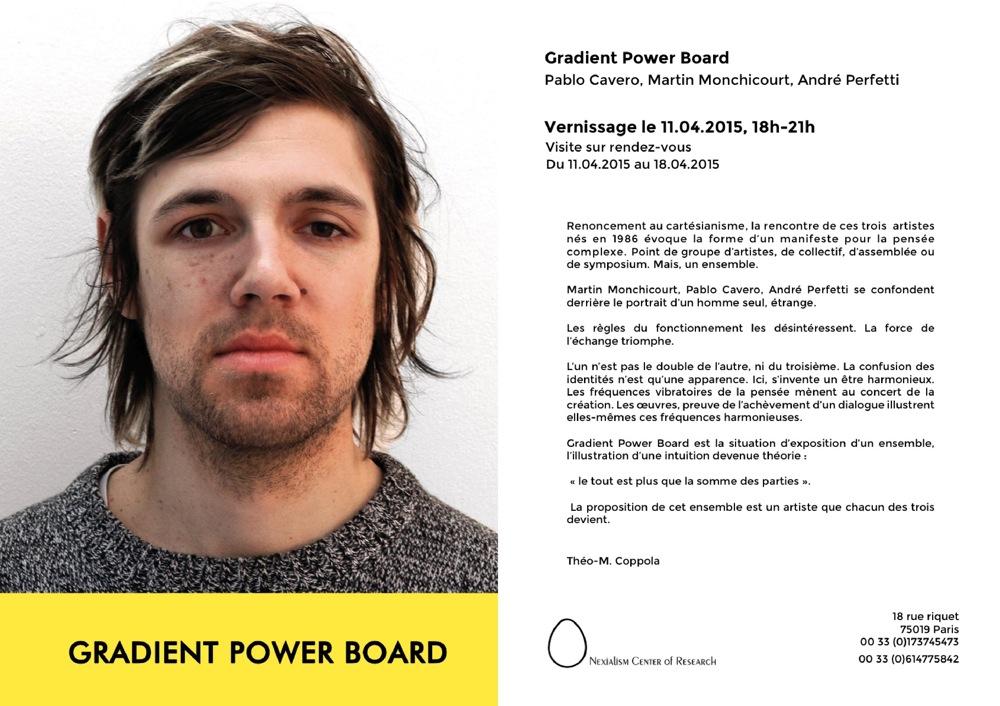 Gradient Power Board, Paris