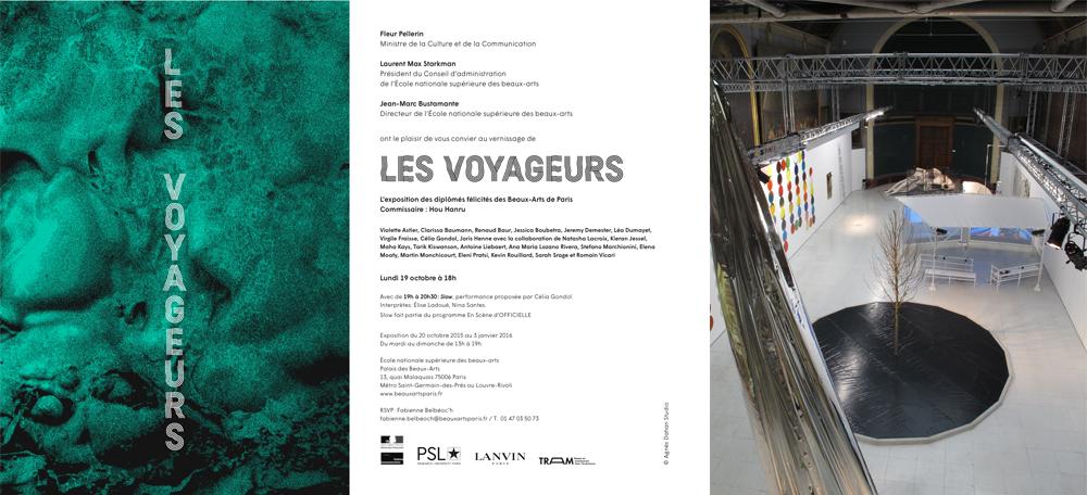 Les Voyageurs, Palais Beaux Arts, Paris